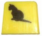 S-150-150-schwarze Katze Vanille Original in Seife Schwarze Katze Vanille